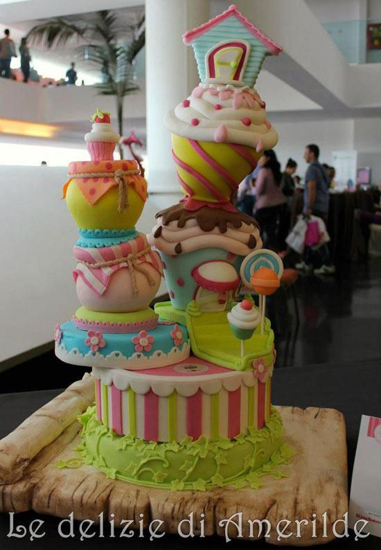 Cake Design Italian Festival Roma : Le torte del Cake Design Italian Festival - Cakemania ...