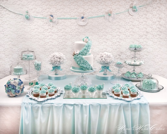 Cinderella Bridal Shower Cake