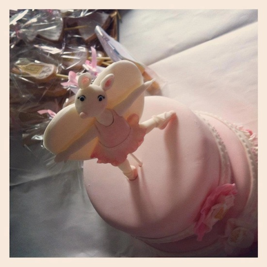 Angelina Ballerina Cake Youtube
