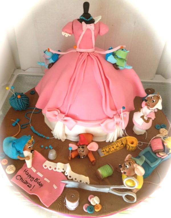 Pictures Of Cake Art : Torta Cenerentola: tante idee per torte di cake design