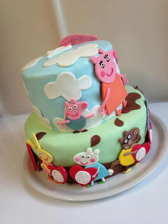 Arte E Zucchero Cake Design By Dora Luca : 100 torte di Peppa Pig: dolci decorati con Peppa, George & Co.