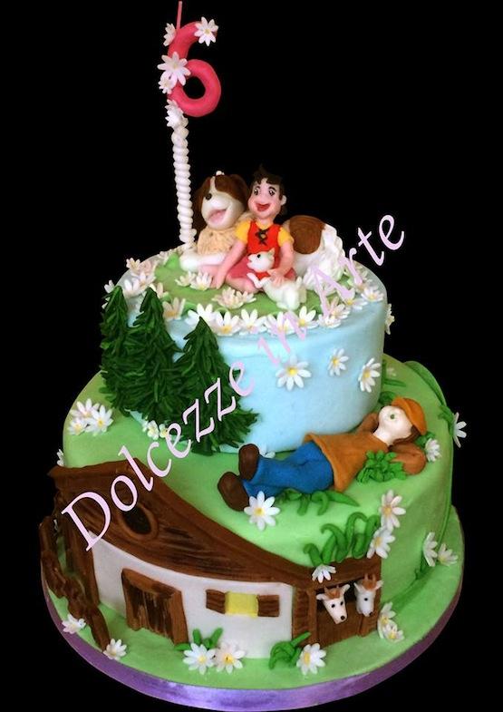 Torta heidi torte di compleanno cake design
