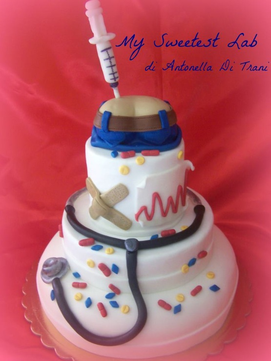 Torta Cake Design Dentista : torta infermiera