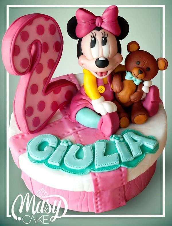 torta minnie di cake design