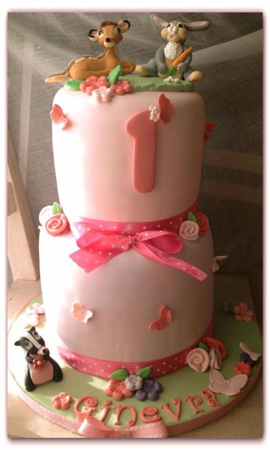 torta bambi cake