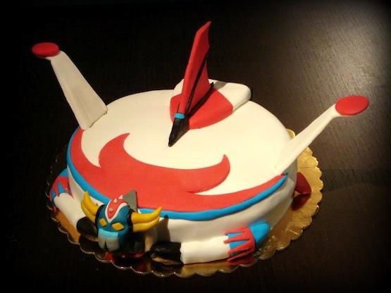 Torta geisha torte in stile giapponese classico