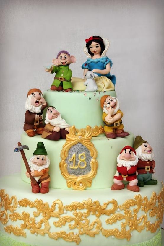 Cake Design Principesse Disney : Torte con personaggi Disney per i compleanni dei bambini