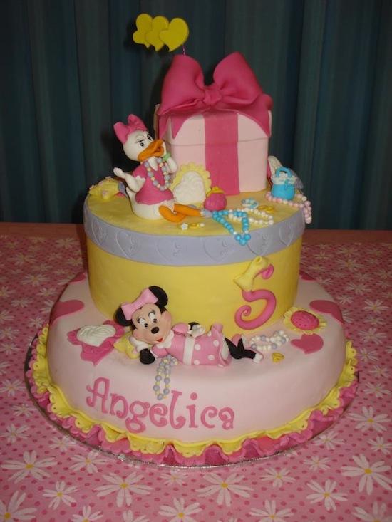 Torte Con Personaggi Disney Per I Compleanni Dei Bambini ...