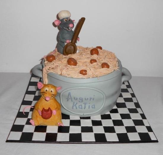 Cheese Cake Ratatouille