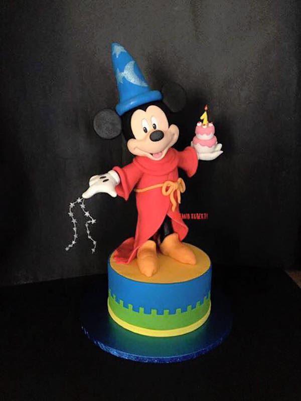 torta topolino mago