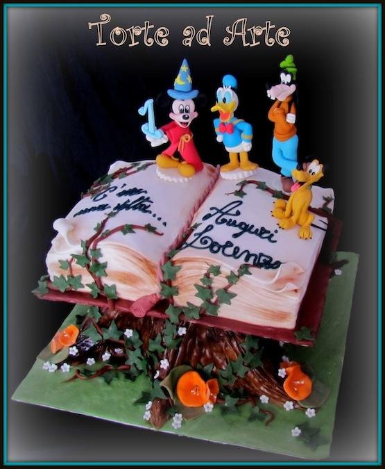 torta topolino stregone