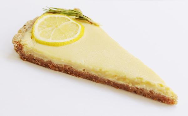 tarte limone e rosmarino