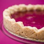 Crostata di fragole e timo: bella, ma non buona. Photo di Federico Casella per Cakemania®
