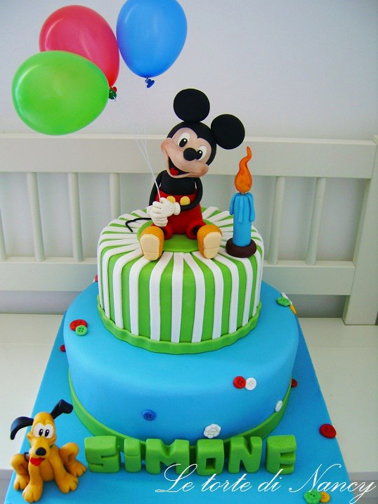 Torte Con Personaggi Disney Per I Compleanni Dei Bambini