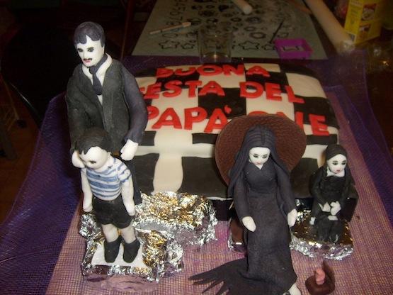 Cake Design Addams Familly