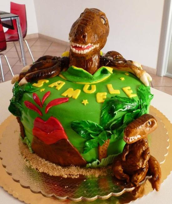 Dino-cake-design: torte con dinosauri!