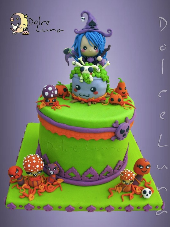 Cakes For Halloween