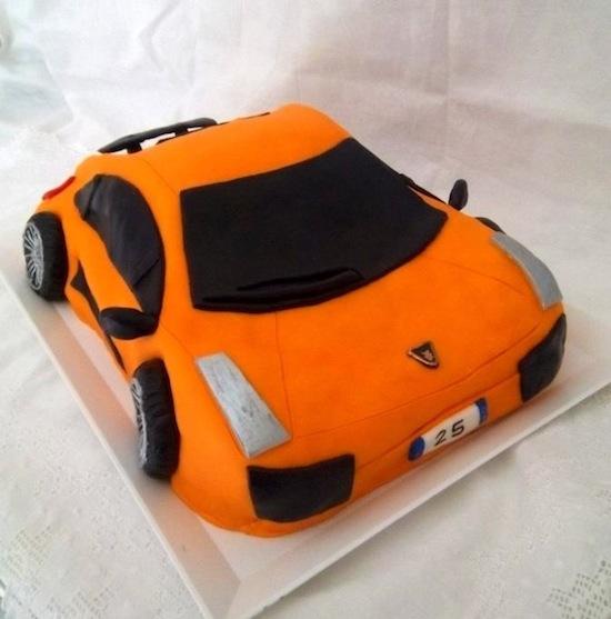 Cake Spiral Design