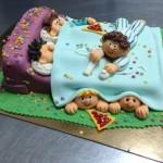 © torta pigiama party