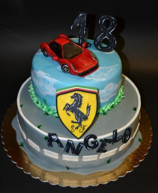 Torte Per Appassionati Di Auto Sportive Cakemania Dolci