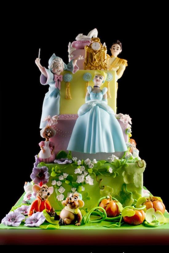 torta cenerentola cinderella cake