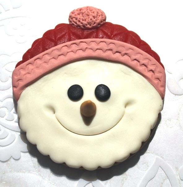 Biscotti Cake Design Ricette : Videotutorial: biscotti natalizi decorati con pasta di ...