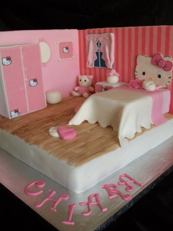 La Cameretta Di Hello Kitty Cakemania Dolci E Cake Design