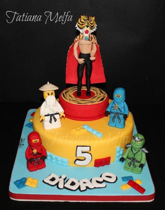 Ninjago Cake Tutorial