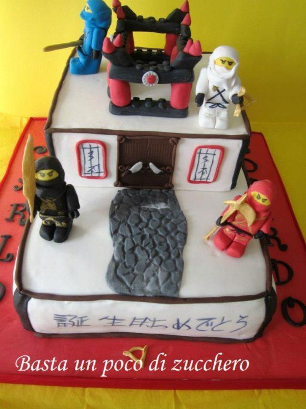 Torta Ninjago Torte Di Cake Design Per Bambini Con I Ninjago
