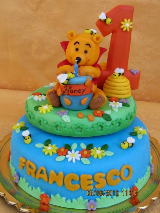 Cake Design Winnie The Pooh
