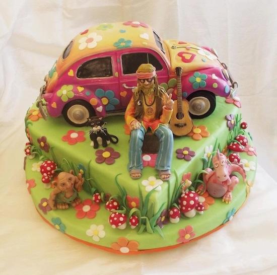 Cake Design Power Rangers