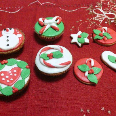 Cupcake Decorate Per Natale