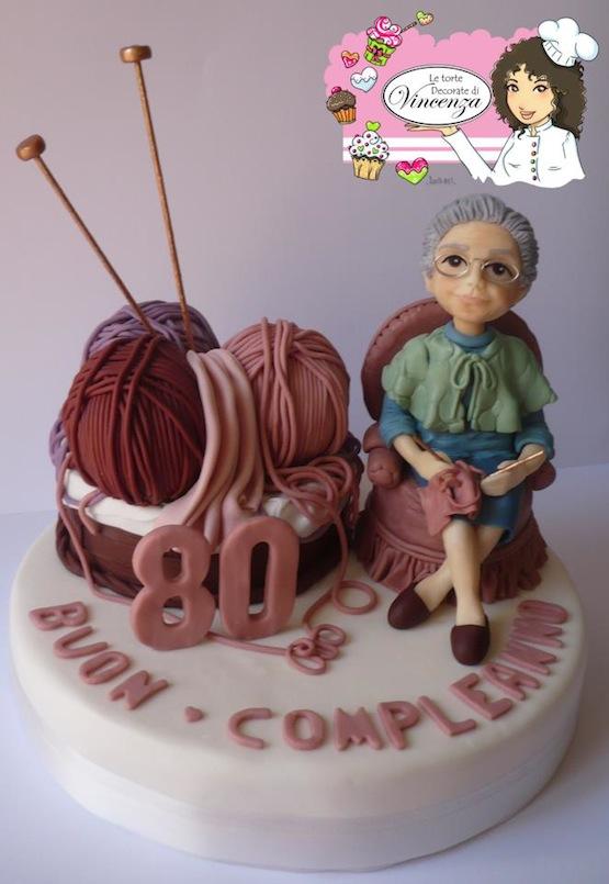 Torte per una nonna   Cakemania, dolci e cake design
