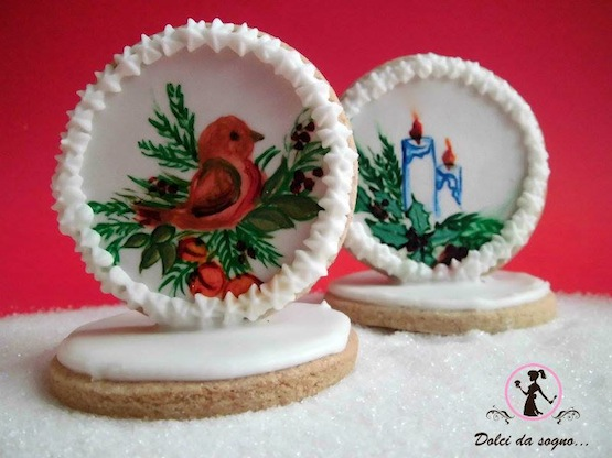 Segnaposto Natalizi Pasta Di Zucchero.Segnaposto E Centrotavola Per Natale
