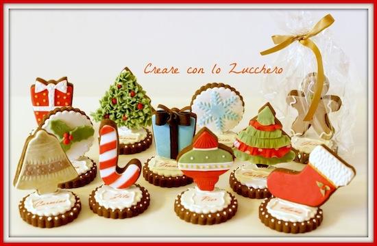 Segnaposto Natalizi Biscotti.Segnaposto E Centrotavola Per Natale