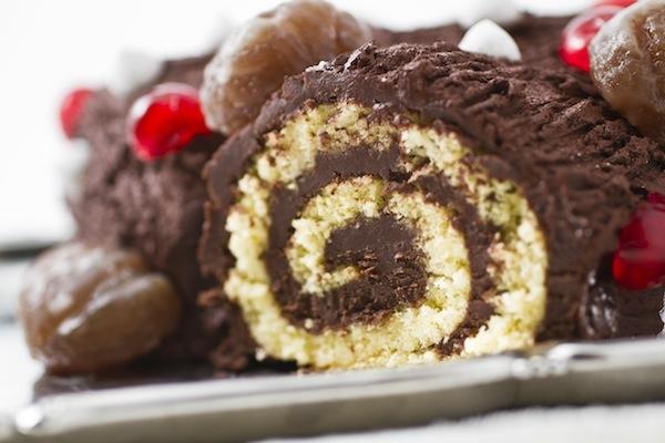 Cake Design Ricette Torte : Ricetta del vero tronchetto di Natale al cioccolato e marroni