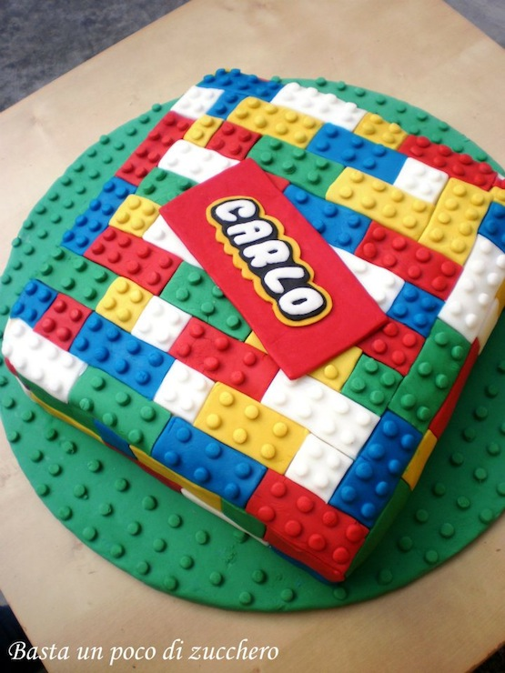 Lego Birthday Cake Learningfun