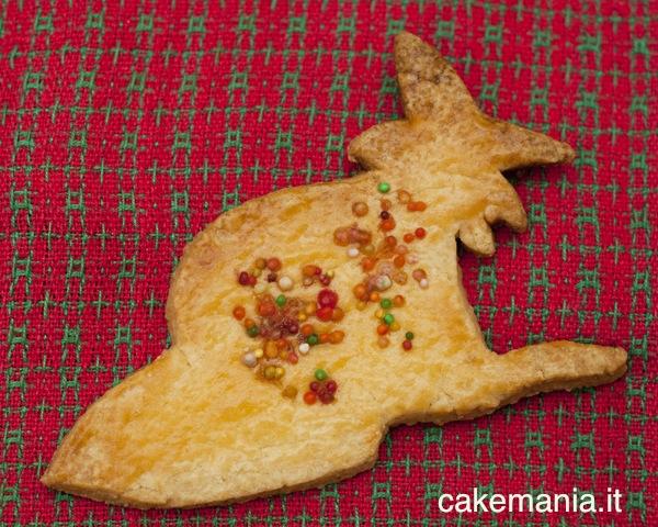Biscotto burroso per la Befana. Photo © Chiara Andreoli per Cakemania®