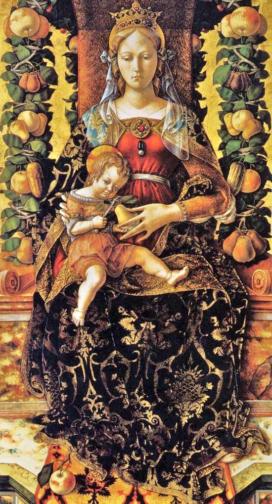 Madonna della Candeletta, Carlo Crivelli (1430-1495).