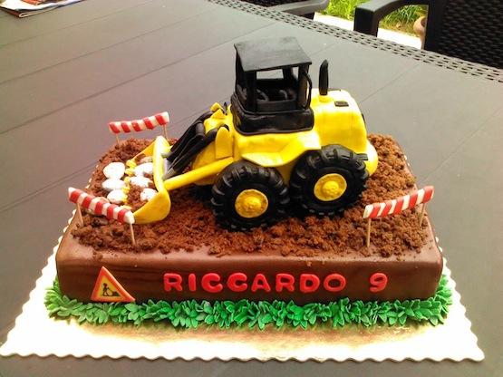 Lego Construction Cake Ideas
