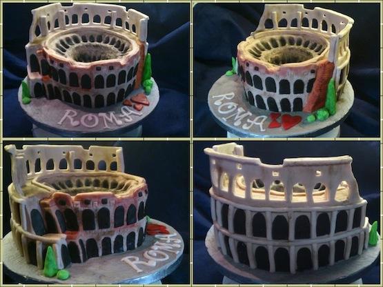 Cake Design Show Roma : Torta Colosseo - Cakemania, dolci e cake design