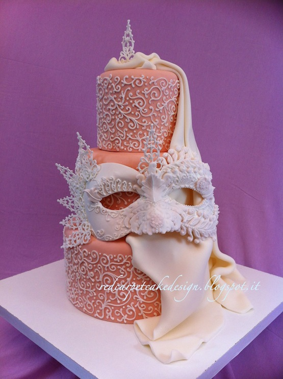 Masquerade Ball Cake Ideas