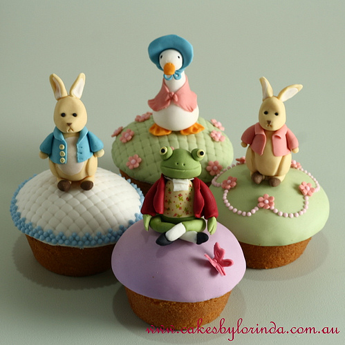 Beatrix Potter Cake Topper Uk