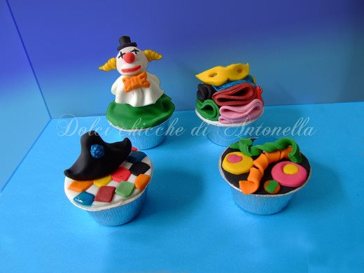 cupcake carnevale