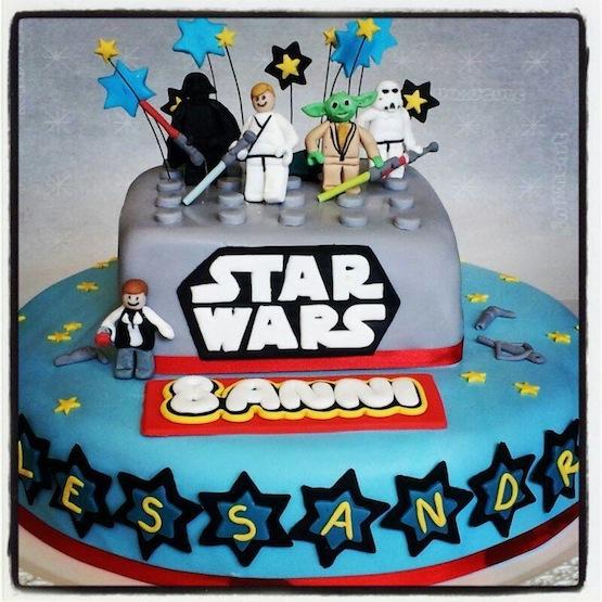 Super Torte Star Wars: dalla prima saga alla versione Lego DS42