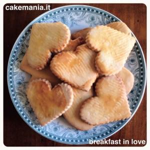 #colazione con #amore #biscotti #cuore #befanini #buongiorno ❤️ #breakfast in…