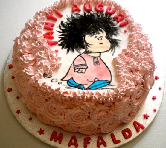 Torta Mafalda Dolci Con L Irresistibile Bambina Creata Da