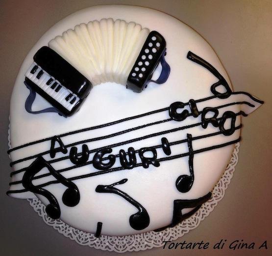 Cake Design Strumenti Musicali : Gina Assini