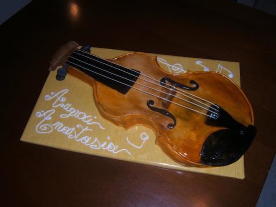 Cake Design Strumenti Musicali : ? Torte ad Arte