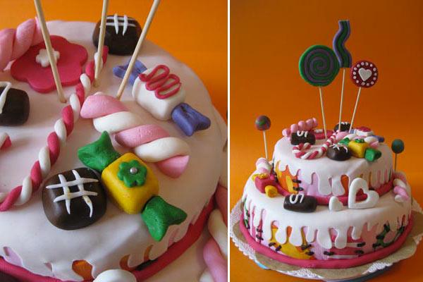 Come si fa una candy cake videotutorial di sweet crazy cake cakemania dolci e cake design - Decorazioni per torte di carnevale ...